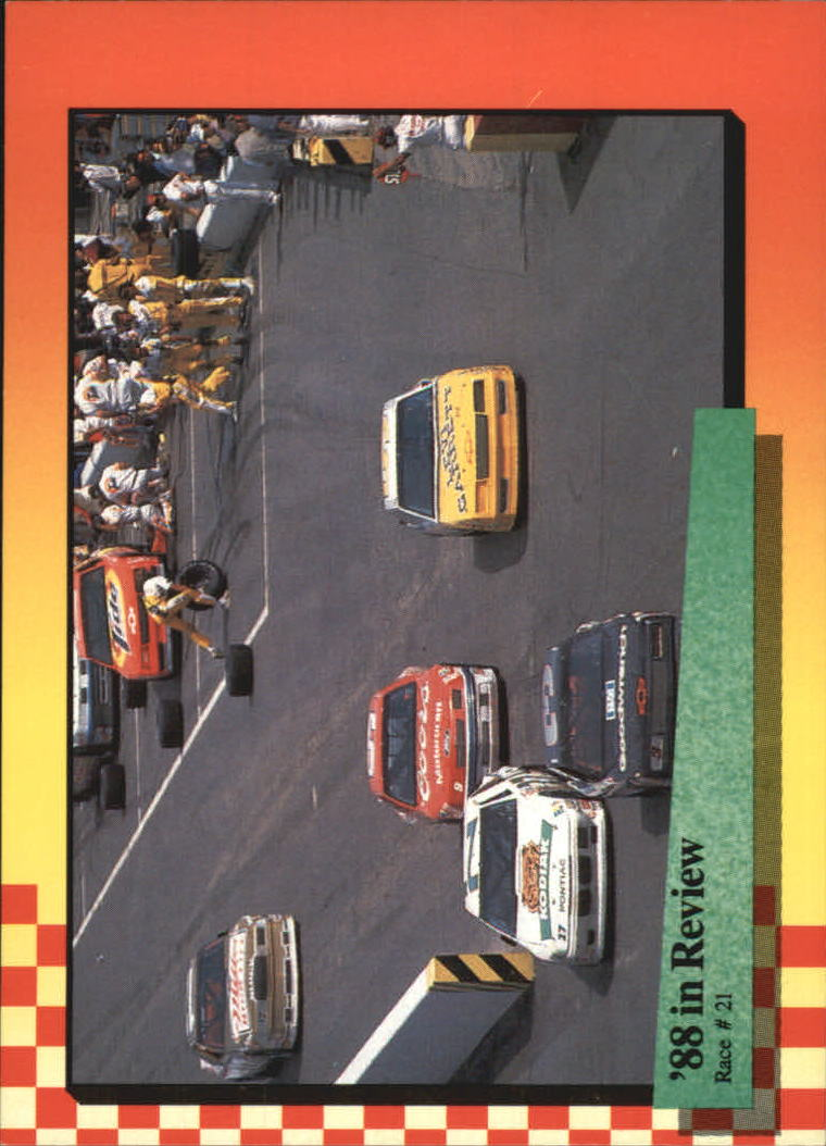 1989 Maxx #121 Dale Earnhardt's Car/Year in Review