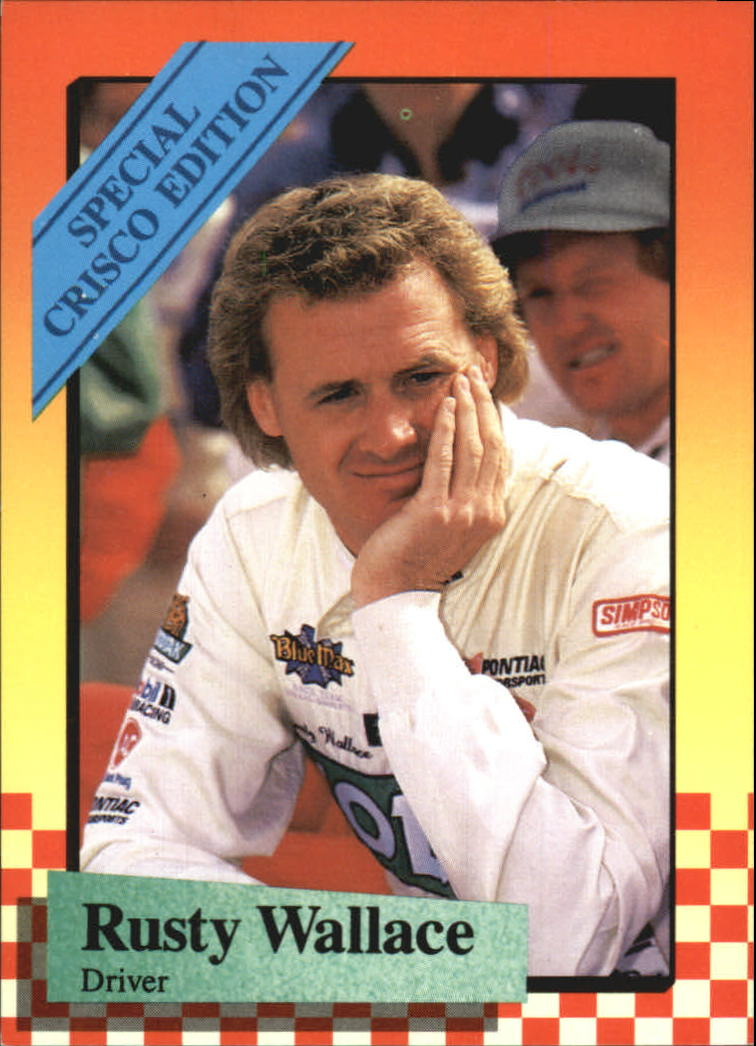 1989 Maxx Crisco #5 Rusty Wallace