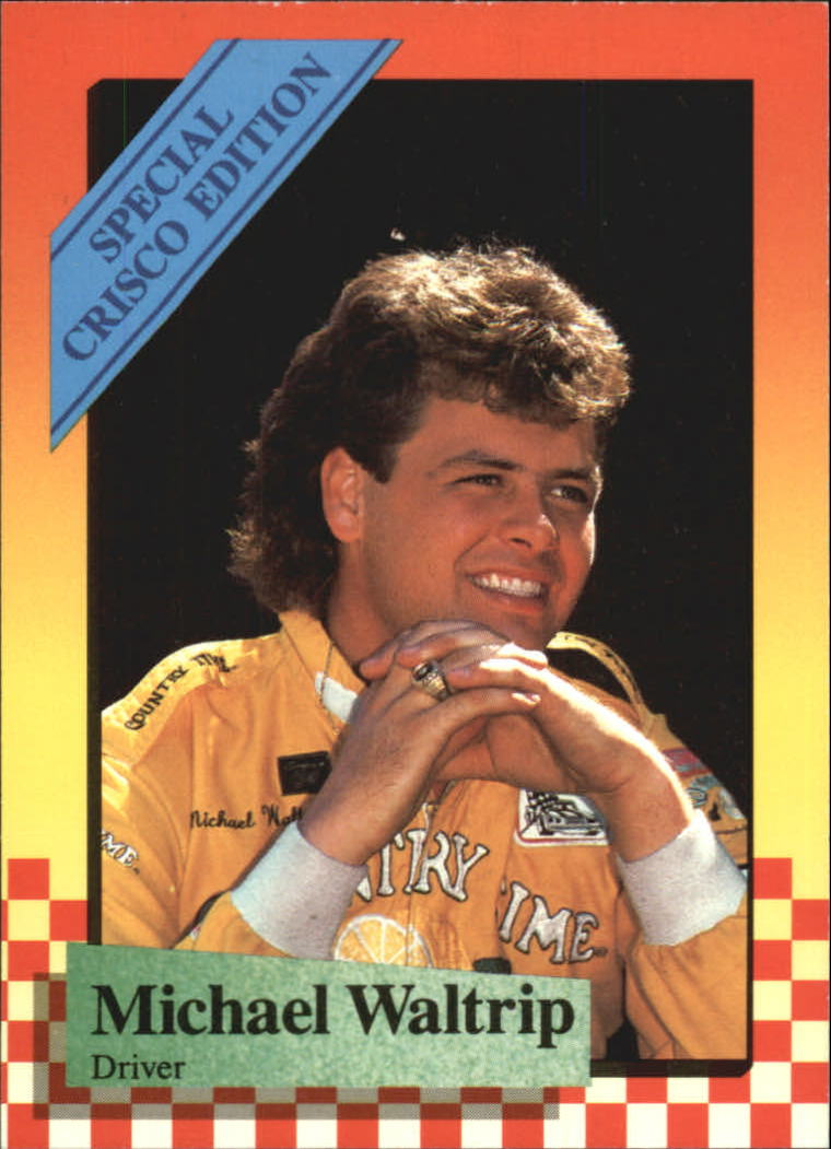 1989 Maxx Crisco #21 Michael Waltrip
