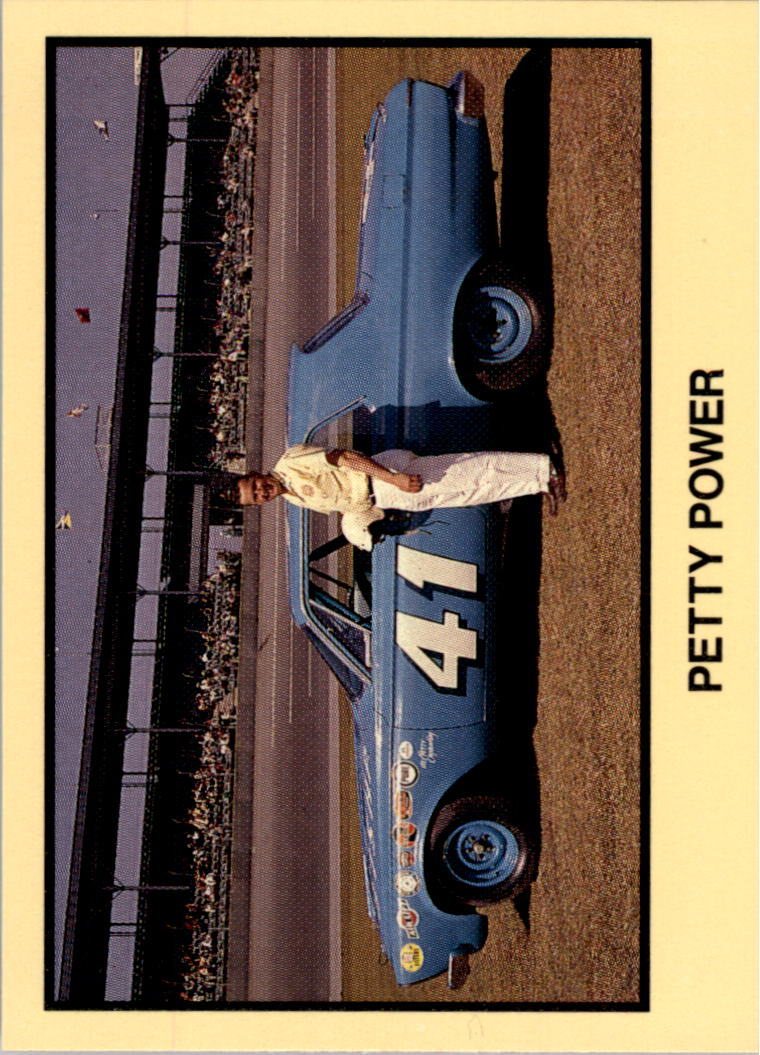 1989-90 TG Racing Masters of Racing #237 Jim Paschal w/car/Richard Petty Power