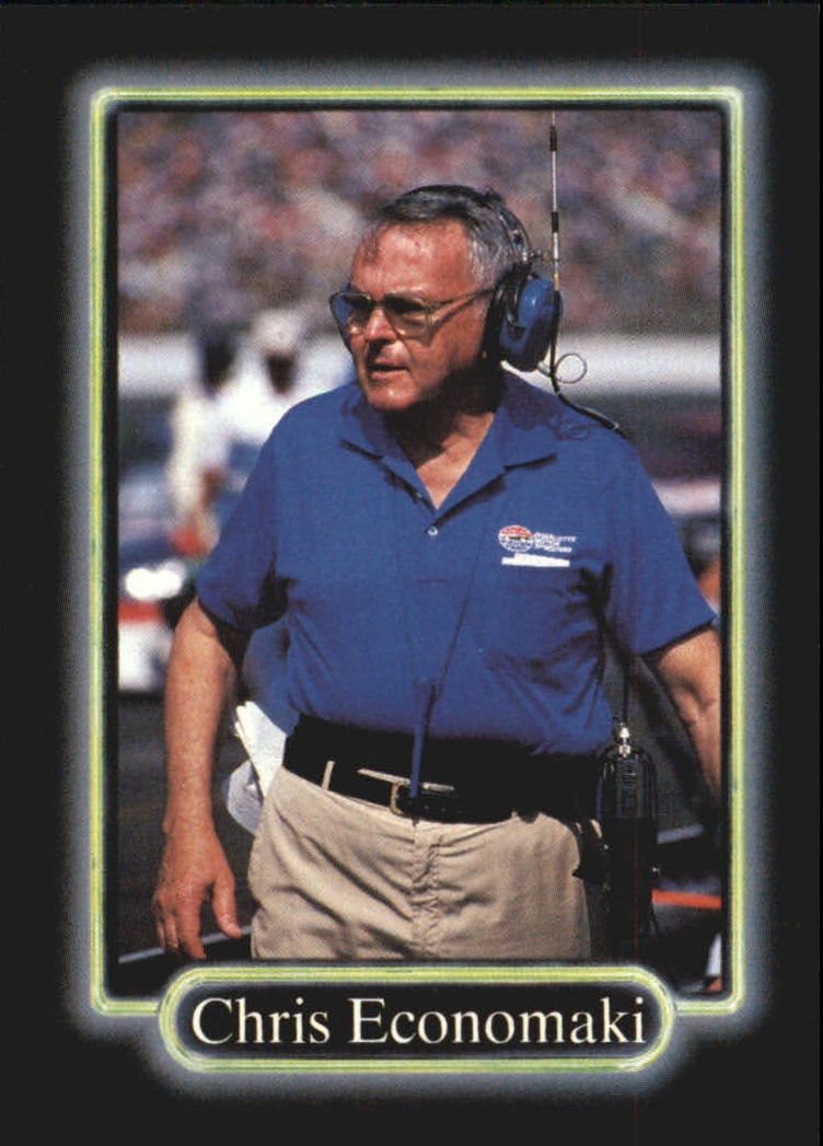 1990 Maxx #159 Chris Economaki RC