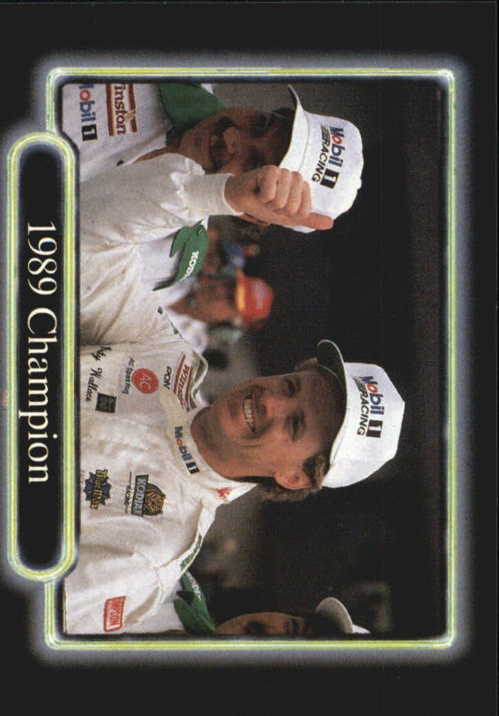 1990 Maxx #198 Rusty Wallace/Year in Review