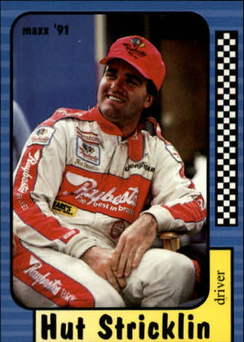 1991 Maxx #12 Hut Stricklin