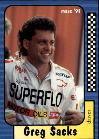 1991 Maxx #18 Greg Sacks