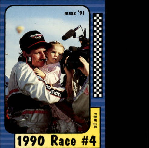 1991 Maxx #173 Dale Earnhardt/Year in Review