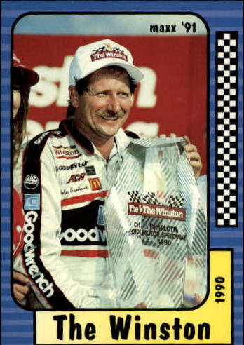 1991 Maxx #179 Dale Earnhardt/Year in Review