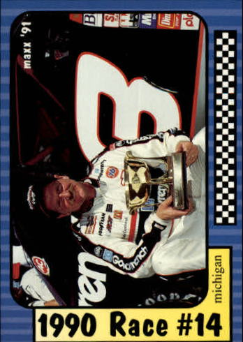 1991 Maxx #184 Dale Earnhardt/Year in Review