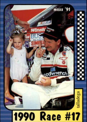 1991 Maxx #187 Dale Earnhardt/Year in Review