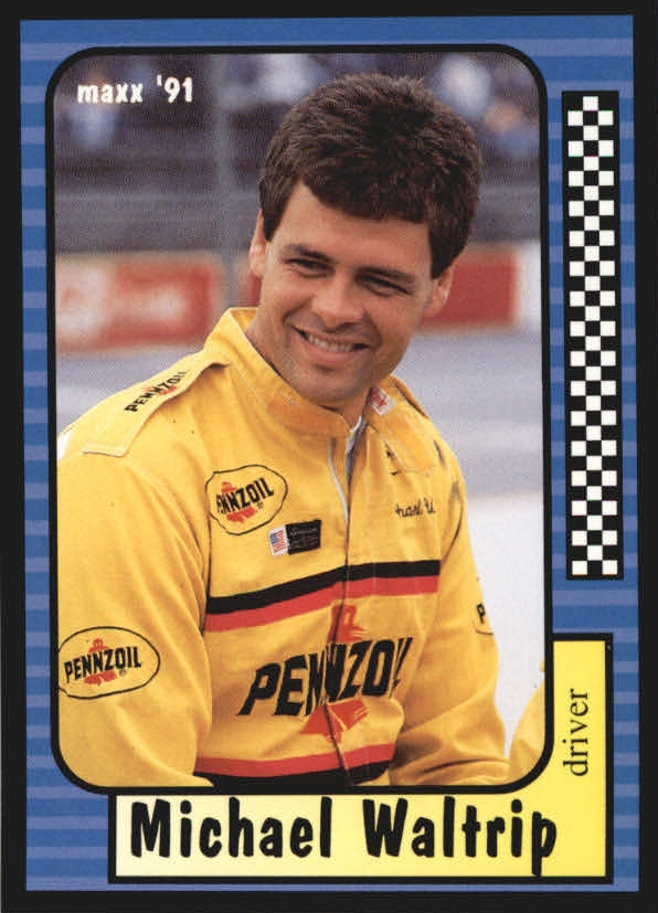 1991 Maxx Update #30 Michael Waltrip