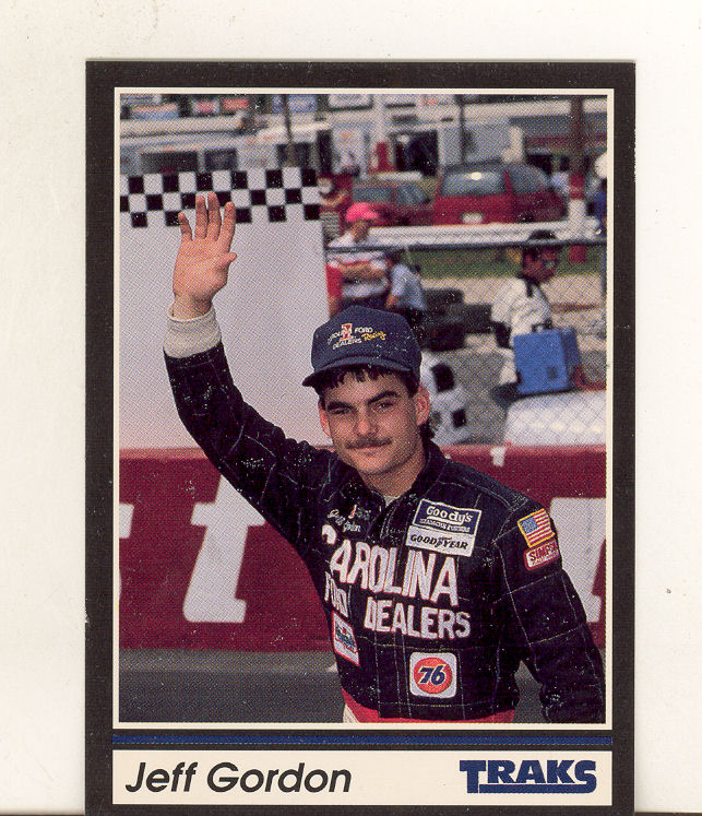 1991 Traks #1 Jeff Gordon RC