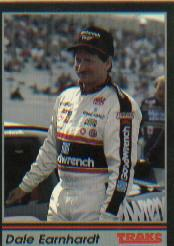 1991 Traks #103A Dale Earnhardt ERR/Trademark reads/ than Sports Image, Inc is