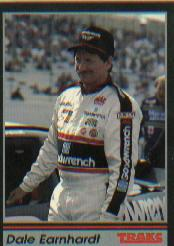 1991 Traks #103B Dale Earnhardt COR/Trademark reads/ than Sports Image, Inc. at racing venues