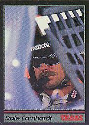 1991 Traks #190B Dale Earnhardt/Trademark reads/ than Sports Image, Inc. at racing venues