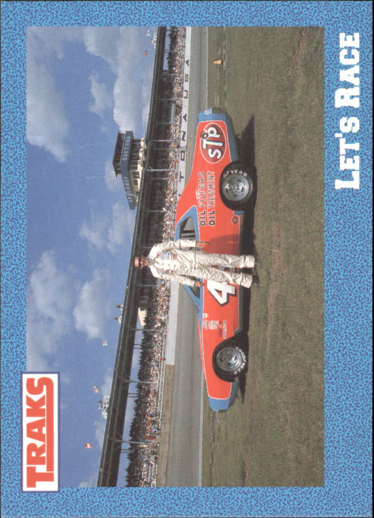 1991 Traks Richard Petty #4 Richard Petty w/Car