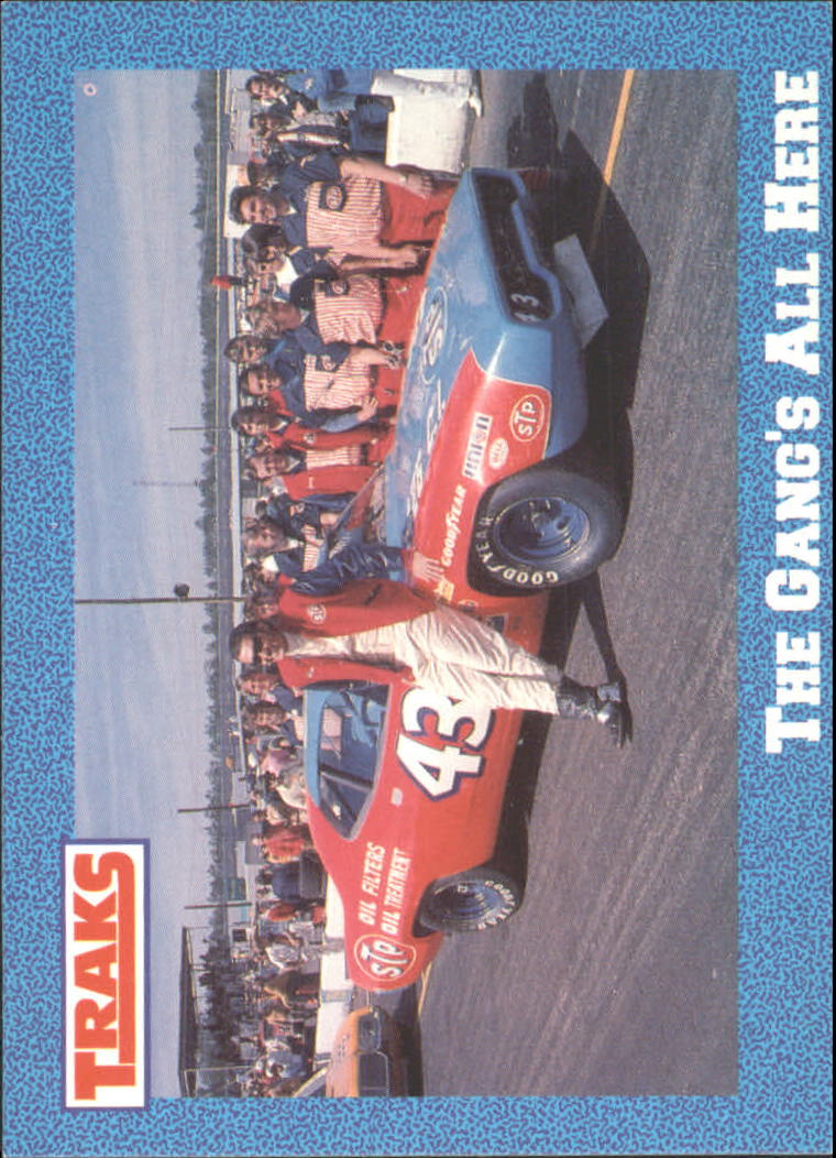 1991 Traks Richard Petty #6 Richard Petty w/Car