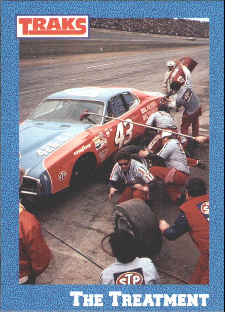 1991 Traks Richard Petty #10 Richard Petty in Pits