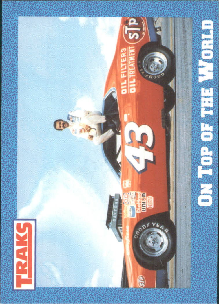 1991 Traks Richard Petty #11 Richard Petty w/Car