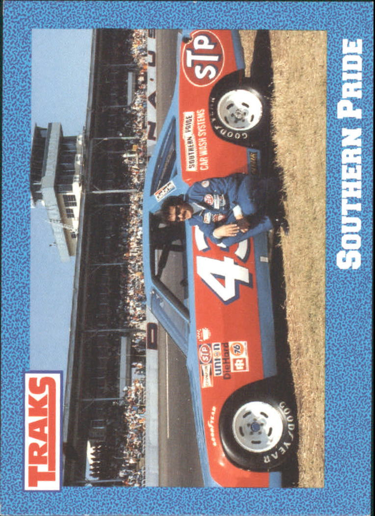 1991 Traks Richard Petty #21 Richard Petty w/Car