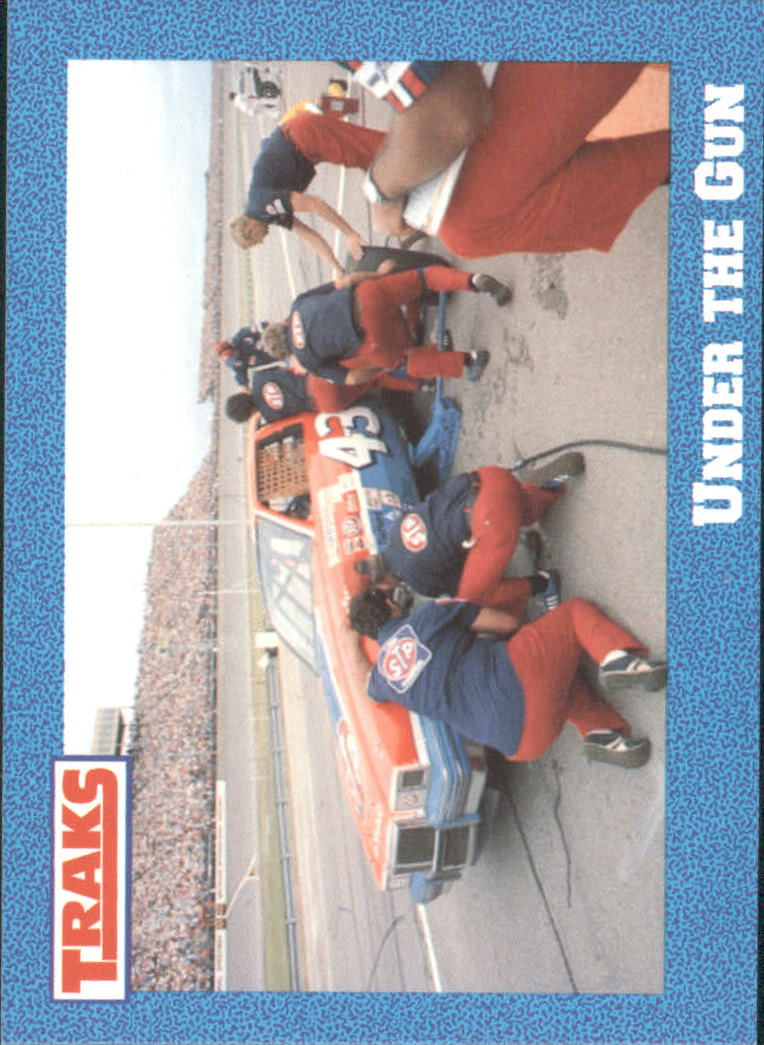 1991 Traks Richard Petty #23 Richard Petty in Pits