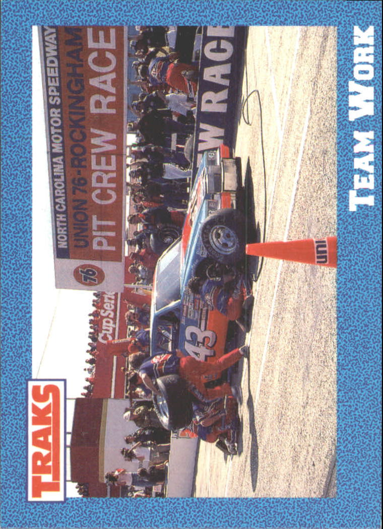 1991 Traks Richard Petty #30 Richard Petty in Pits