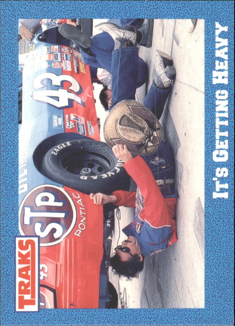 1991 Traks Richard Petty #32 Richard Petty w/Car