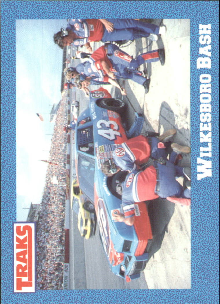1991 Traks Richard Petty #33 Richard Petty in Pits