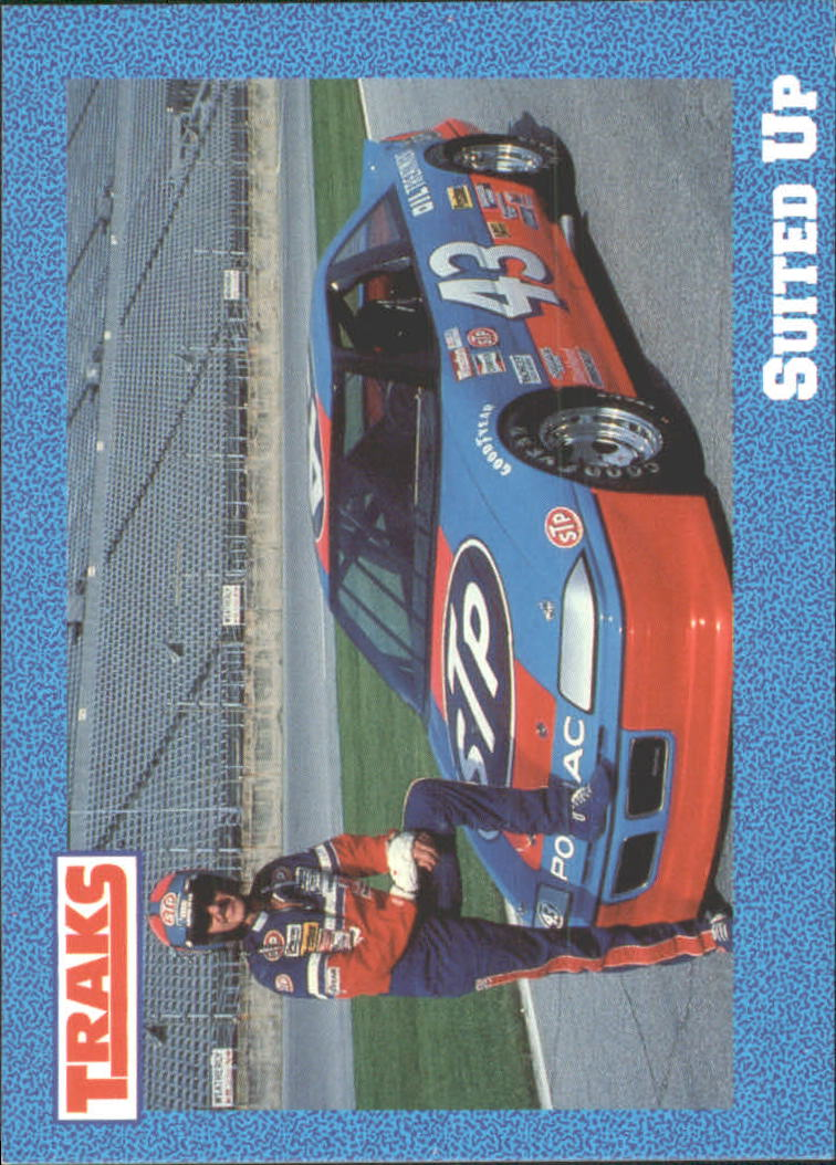 1991 Traks Richard Petty #37 Richard Petty w/Car