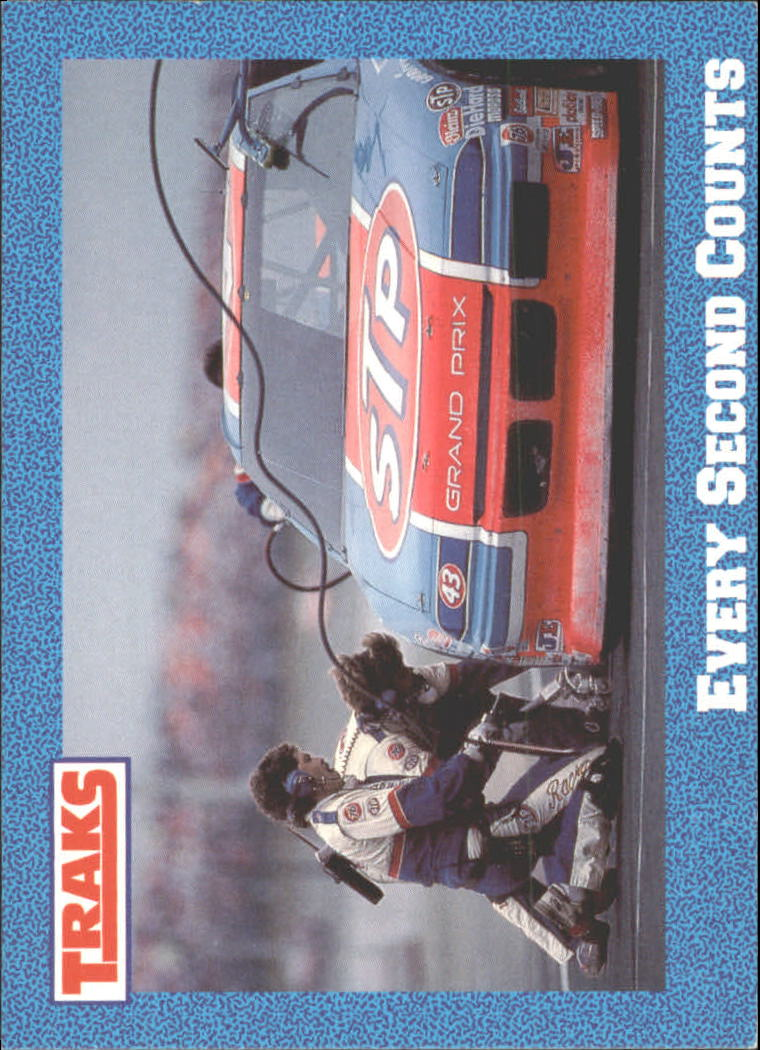 1991 Traks Richard Petty #38 Richard Petty in Pits