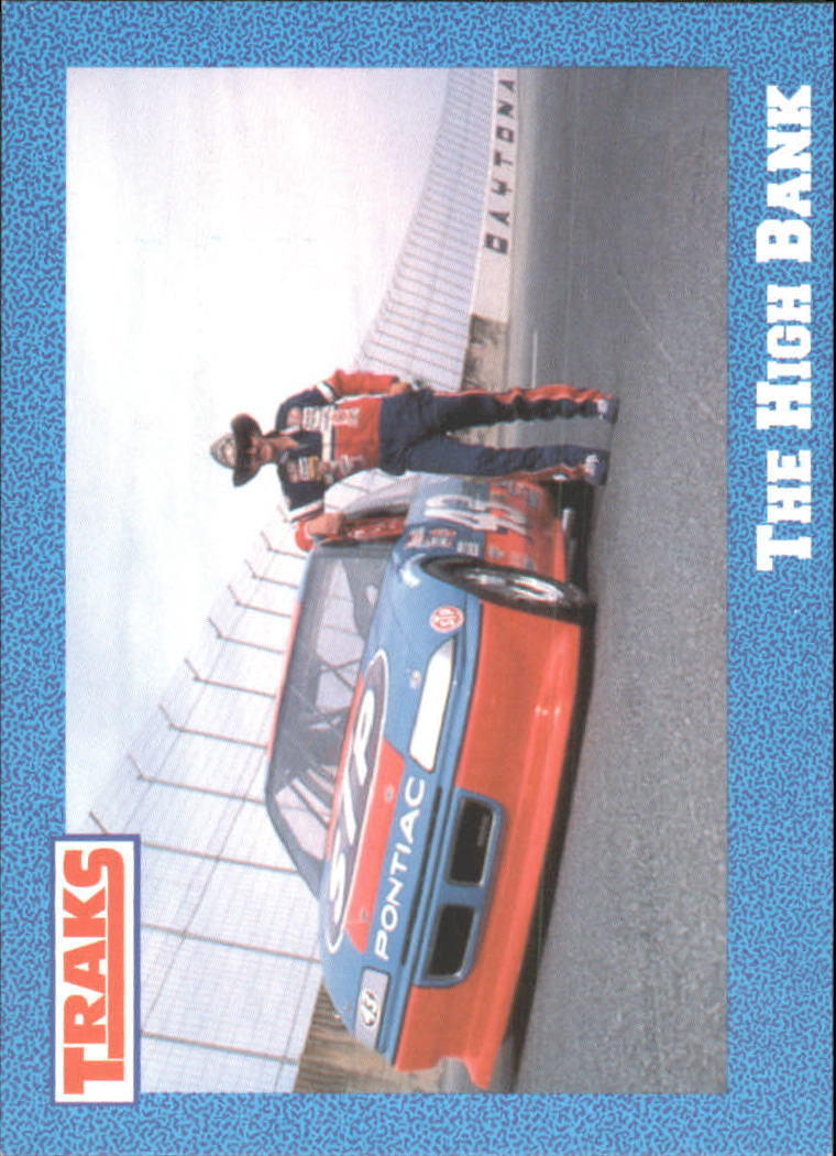 1991 Traks Richard Petty #41 Richard Petty w/Car