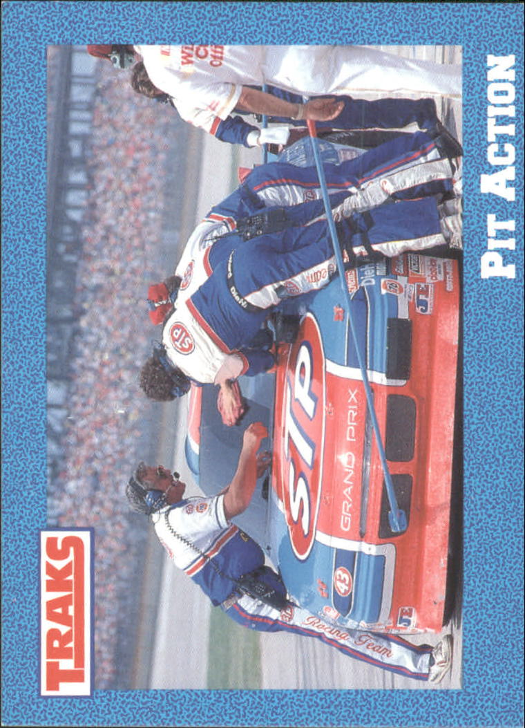 1991 Traks Richard Petty #42 Richard Petty in Pits