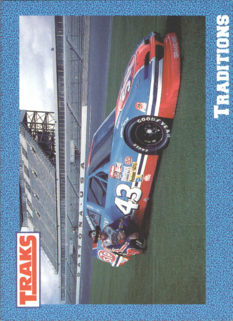 1991 Traks Richard Petty #49 Richard Petty w/Car