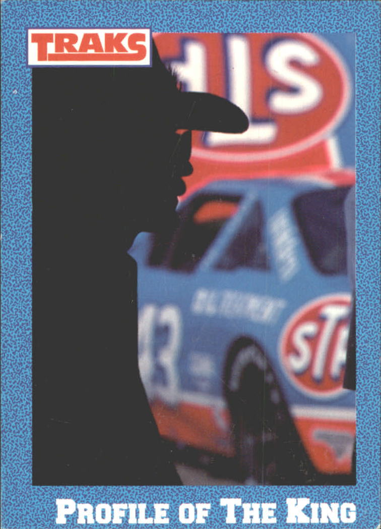 1991 Traks Richard Petty #50 Richard Petty w/Car