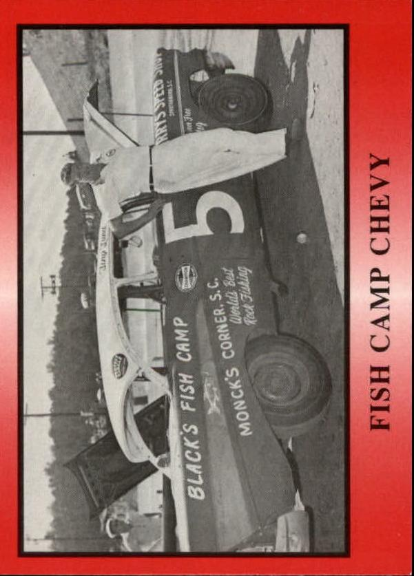 1991 TG Racing Tiny Lund #12 Tiny Lund w/Car/Fish Camp Chevy