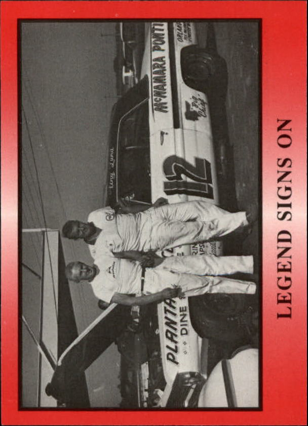 1991 TG Racing Tiny Lund #14 Tiny Lund/Louis Vogt/Legend Signs On