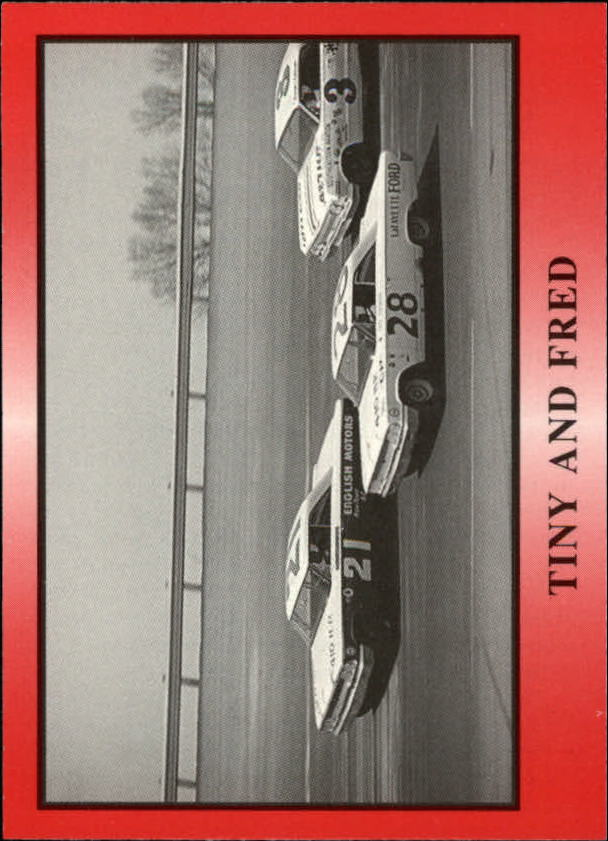 1991 TG Racing Tiny Lund #16 Tiny Lund's Car/Fred Lorenzen's Car/Tiny and Fred