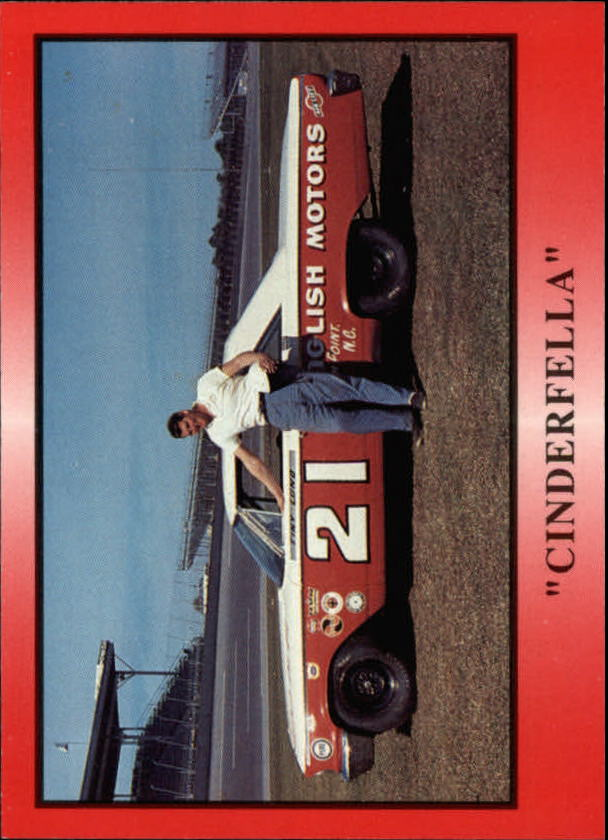 1991 TG Racing Tiny Lund #17 Tiny Lund w/Car/Cinderfella