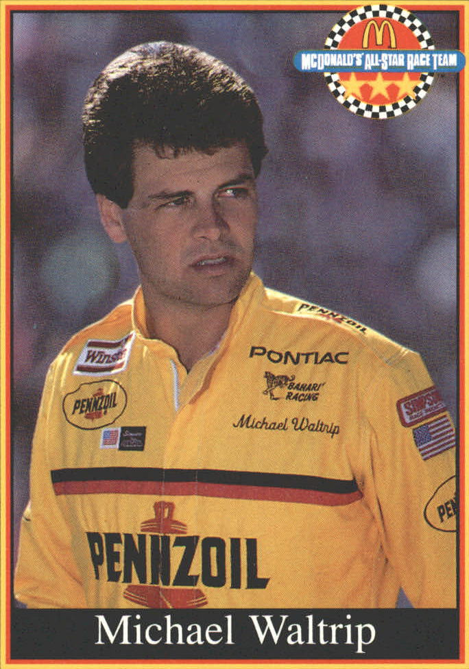 1991 Maxx McDonald's #16 Michael Waltrip