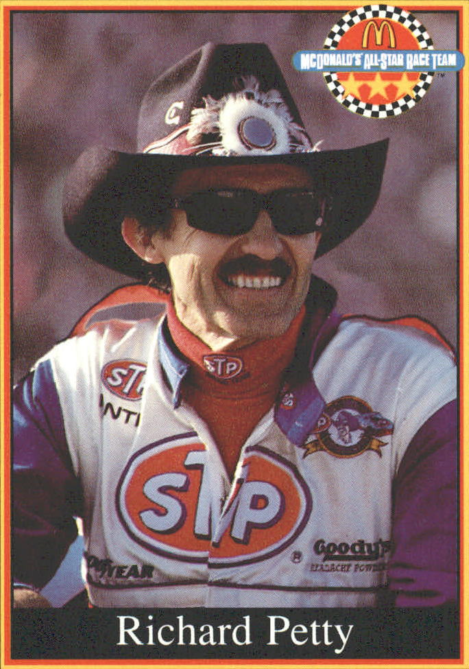 1991 Maxx McDonald's #26 Richard Petty