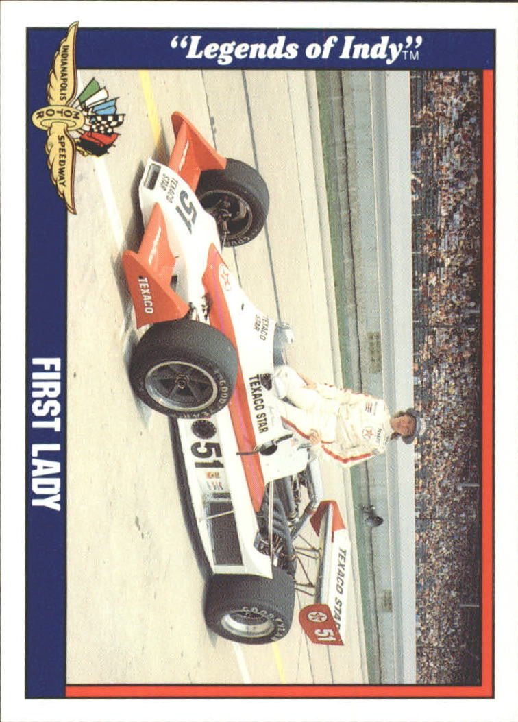 1991 Legends of Indy #66 Janet Guthrie w/Car
