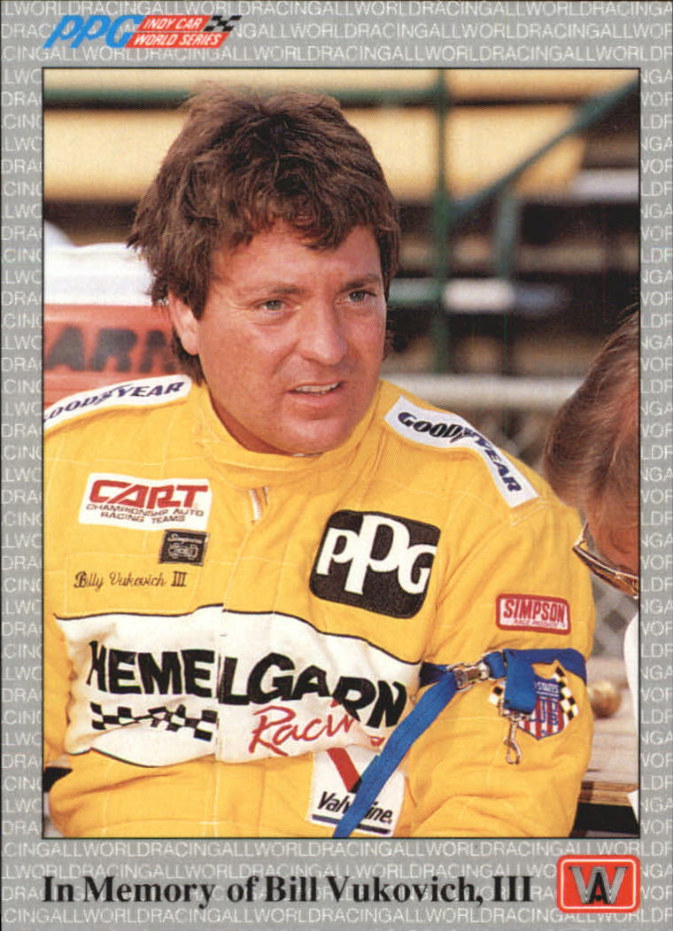 1991 All World Indy #2 Bill Vukovich III
