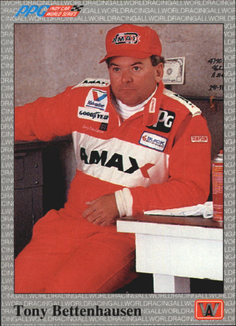1991 All World Indy #6 Tony Bettenhausen