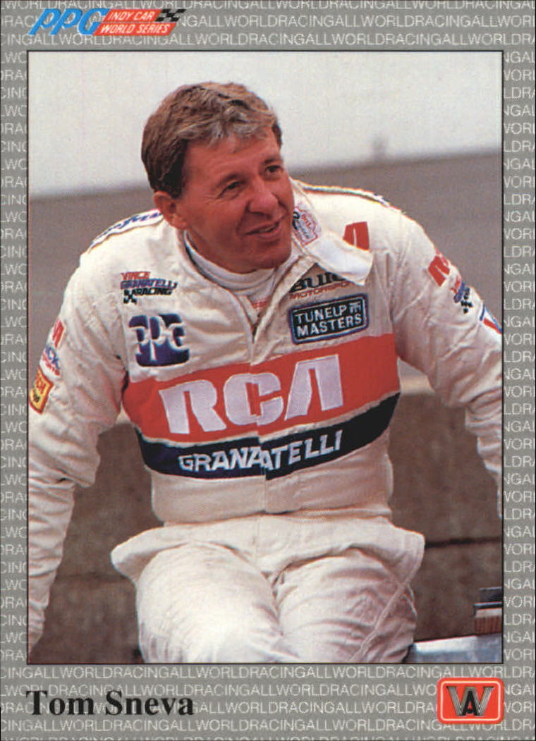 1991 All World Indy #7 Tom Sneva
