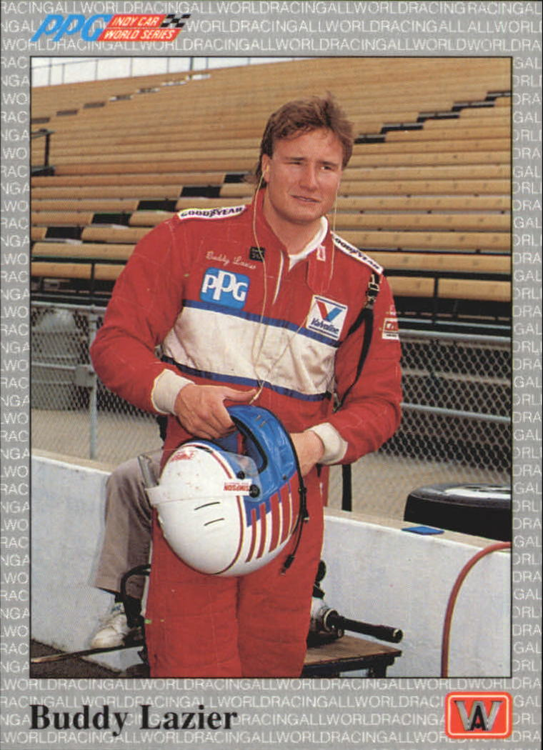 1991 All World Indy #11 Buddy Lazier