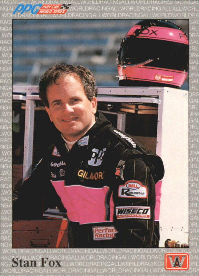 1991 All World Indy #12 Stan Fox