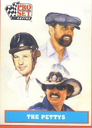 1991 Pro Set Petty Family #1 Maurice Petty Art/R.Petty ART/Lee Petty ART
