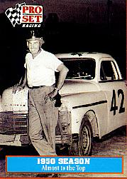 1991 Pro Set Petty Family #5 Lee Petty w/Car 1950