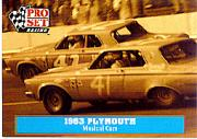 1991 Pro Set Petty Family #18 Richard Petty/Lee Petty Cars 1963