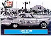 1991 Pro Set Petty Family #20 Richard Petty's Car 1965