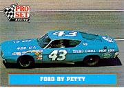 1991 Pro Set Petty Family #24 Richard Petty's Car 1969