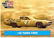 1991 Pro Set Petty Family #27 Richard Petty's Car 1972